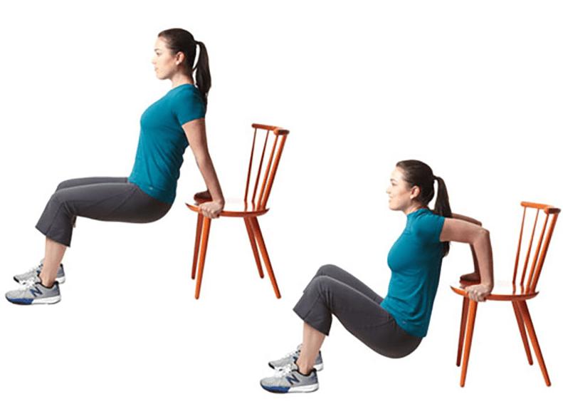упражнения для похудения рук боков живота