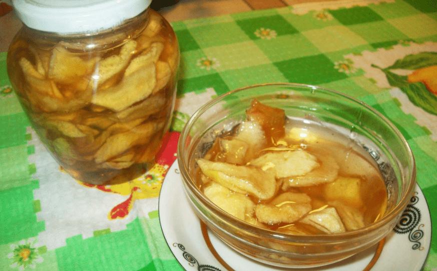 Как варить варенье из домашних яблок