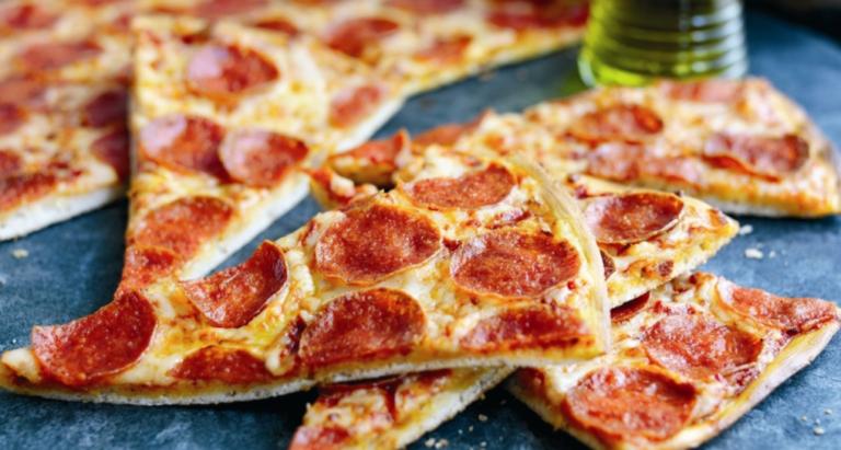 Рецепт тонкой пиццы с сухими дрожжами