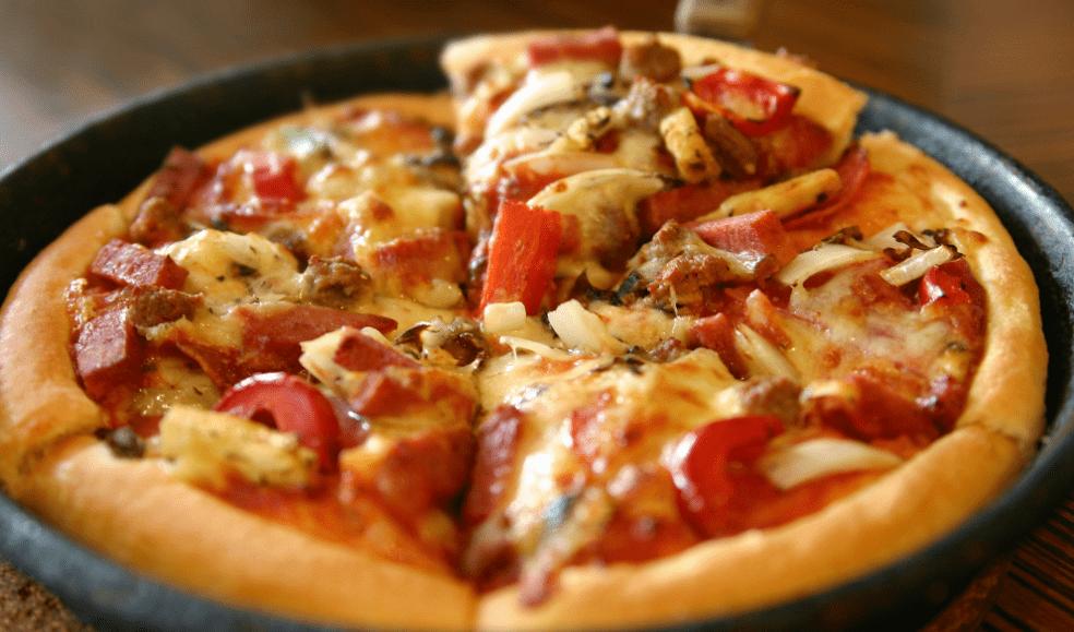 Пицца из хлеба на сковороде за 10 минут пошаговый — 7