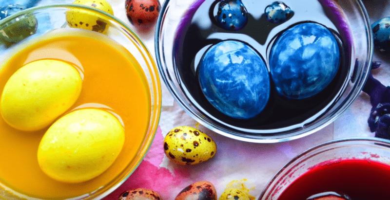 Как покрасить яйца на Пасху 2020? Покраска яиц в домашних ...