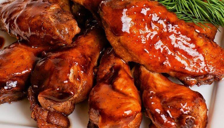 Медовый соус для крылышек
