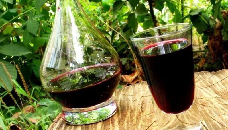 Вишнёвое вино с косточками рецепт