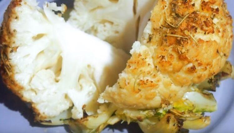 Цветная капуста в духовке: 9 лучших рецептов запекания || Как готовить цветную капусту в духовке