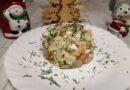 Оливье с семгой: бесподобно вкусный салат на Новый год 2020