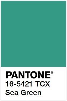 Примеры Pantone самых разный оттенков зеленого рис 19