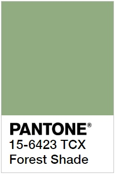 Примеры Pantone самых разный оттенков зеленого рис 31
