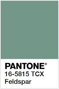 Примеры Pantone самых разный оттенков зеленого рис 25