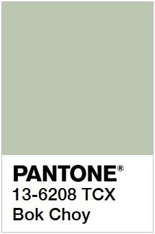 Примеры Pantone самых разный оттенков зеленого рис 1