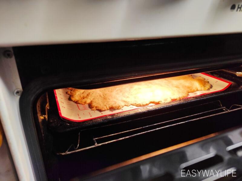 Вымешивание слоёного теста для торта Наполеон рис 6