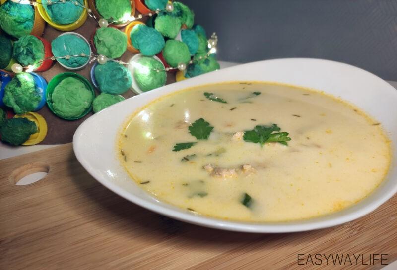 Подготовка и пассерование овощей для рыбного супа со сливками