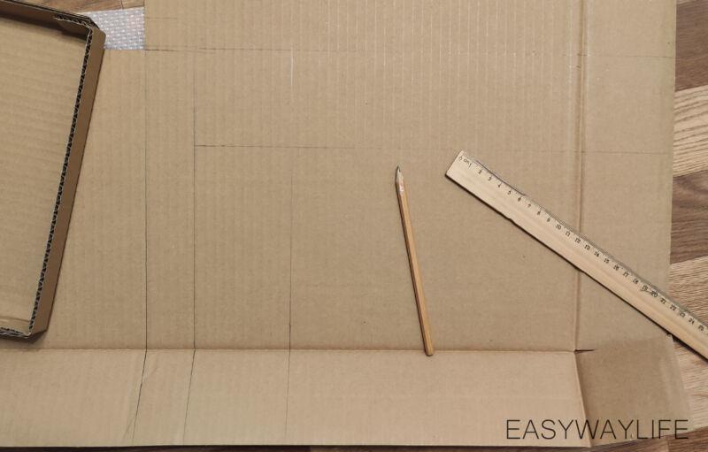 Определиться с размером коробки для подарка на новый год