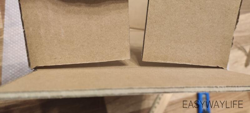Формирование формы коробки коробки для подарка на новый год рис 5