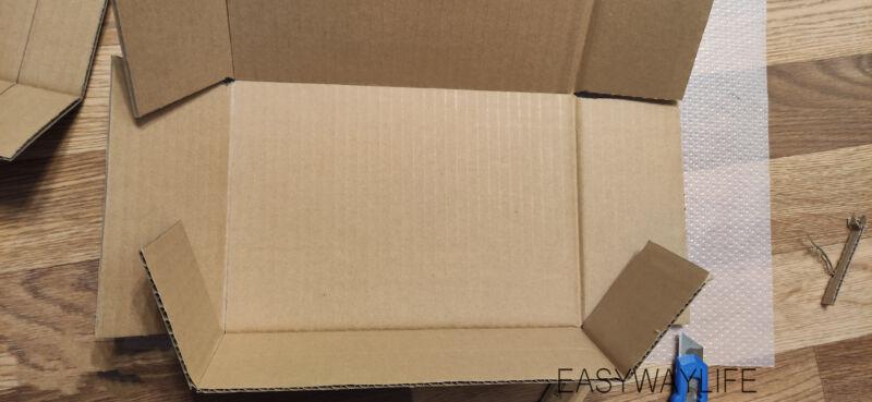 Формирование формы коробки коробки для подарка на новый год рис 4
