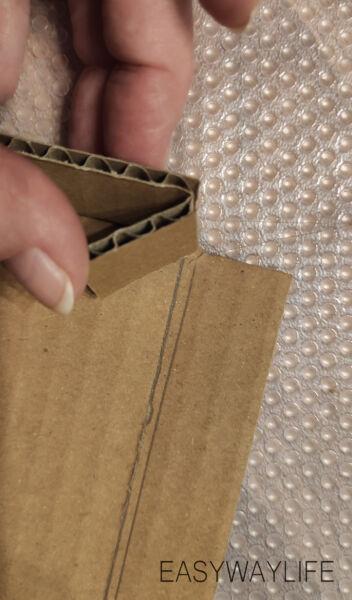 Делаем крышку для коробки на новый год рис 2