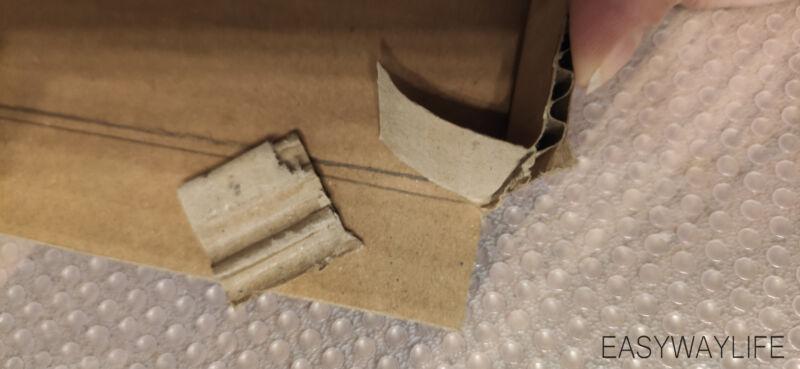 Делаем крышку для коробки на новый год рис 4