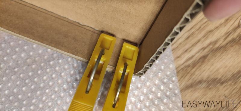 Делаем крышку для коробки на новый год рис 5