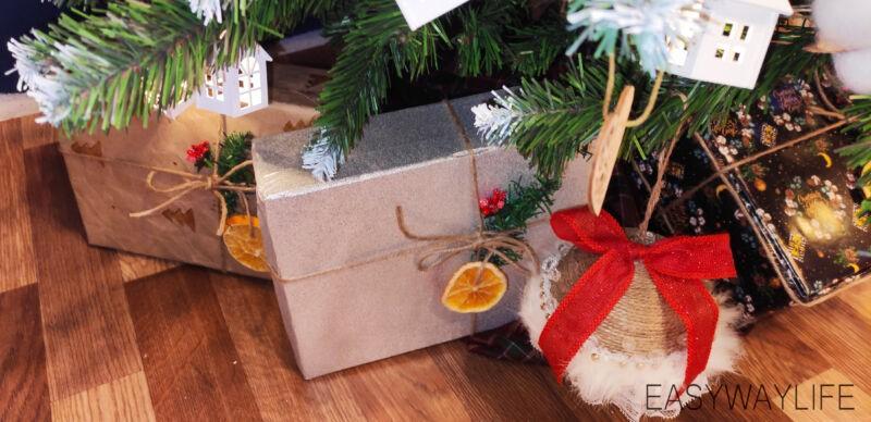 Делаем крышку для коробки на новый год рис 6