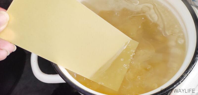 Сырная начинка для лазаньи рис 2