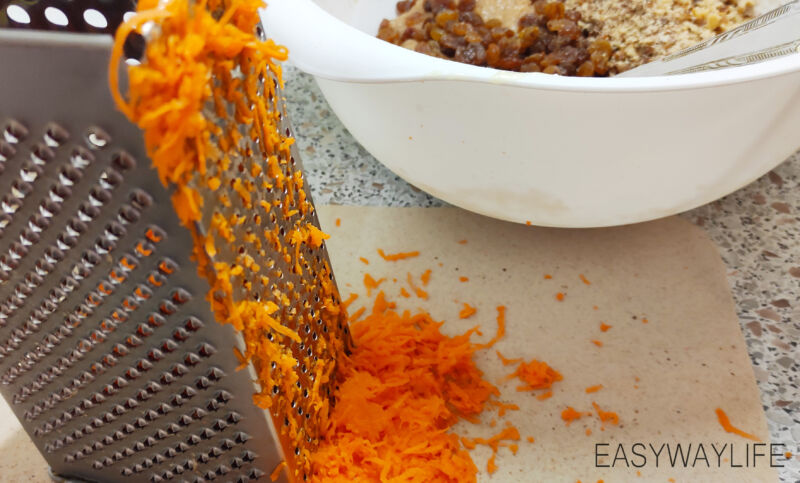 Подготовка начинки для теста морковного торта рис 2