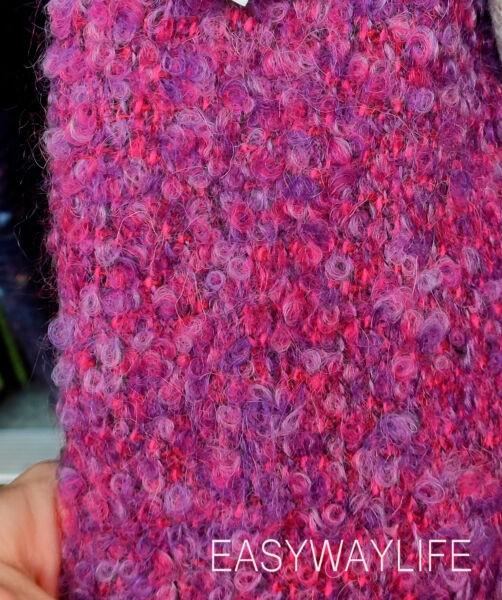 Фактурные ткани для демисезонное пальто рис 1