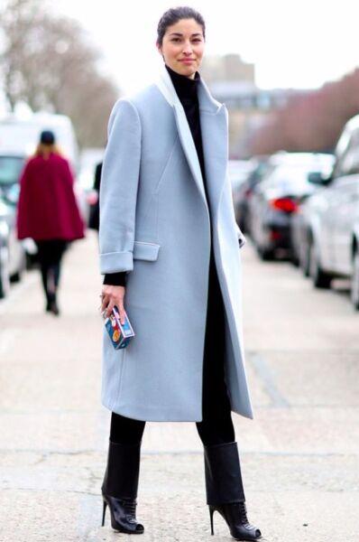 Классическое женское демисезонное пальто рис 3