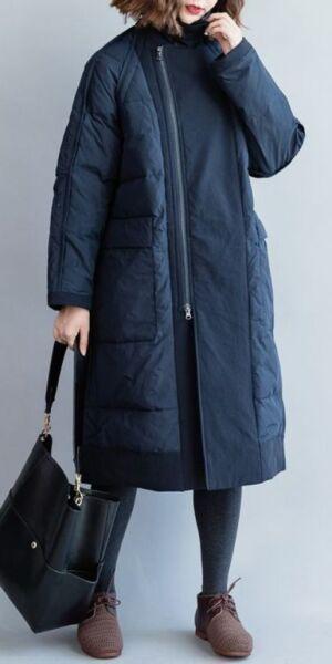 Стёганое демисезонное женское пальто рис 4