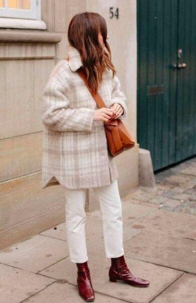 Короткое демисезонное пальто и пальто - рубашки рис 2