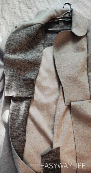 Сметывание пальто и первая примерка рис 3