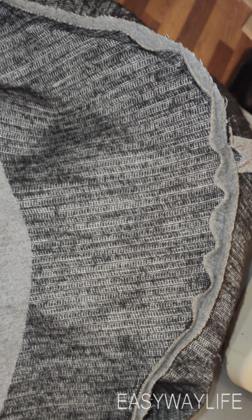 Втачивание рукава в открытую пройму пальто рис 1