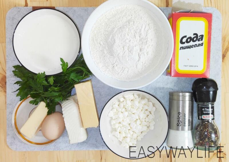 Быстрые хачапури с сыром