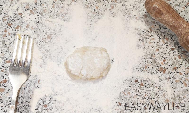 Заготовка для хачапури с сыром рис 1