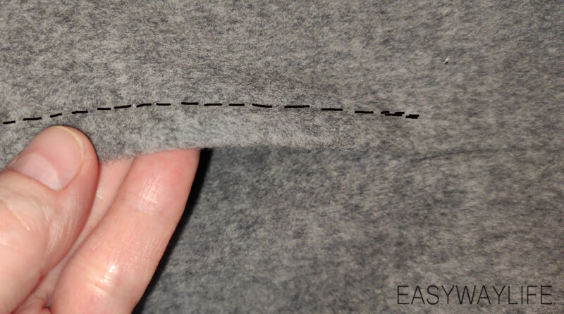 Отделочная строчка на карманах в швах рис 1