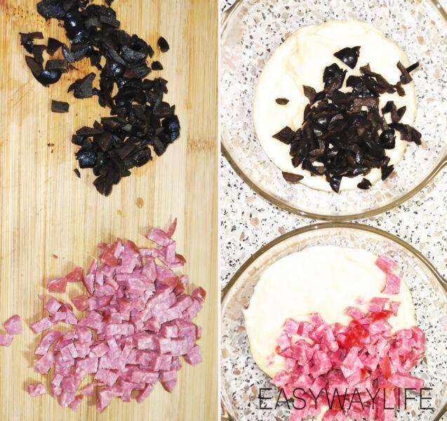 Замешивание теста для закусочных капкейков рис 3