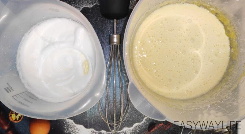 Приготовление бисквитного теста для торта с кремом маскарпоне рис 2