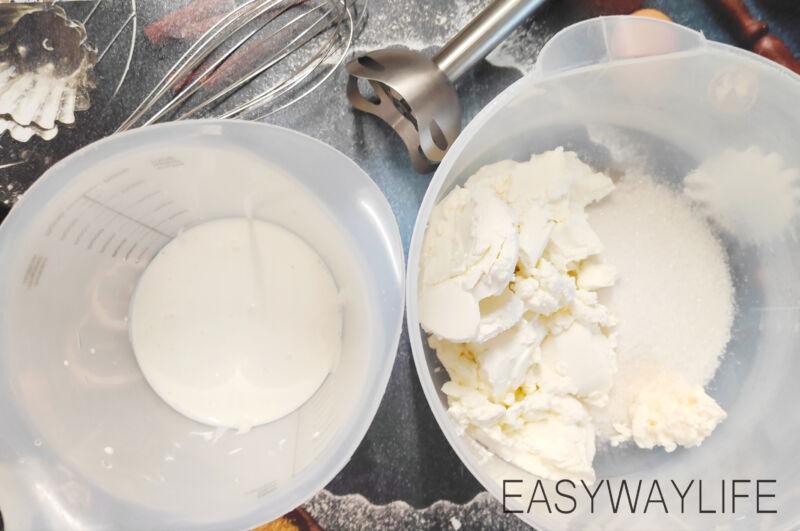 Приготовление крема с маскарпоне для бисквитного торта рис 1