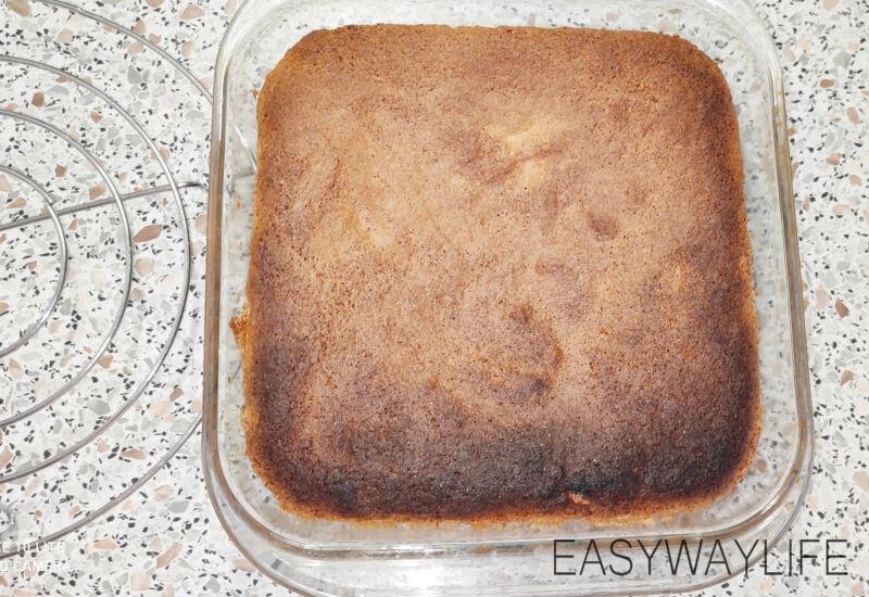 Выпекание коржей для торта с кремом маскарпоне рис 2