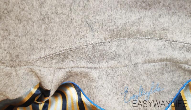 Обработка воротника в пальто рис 3