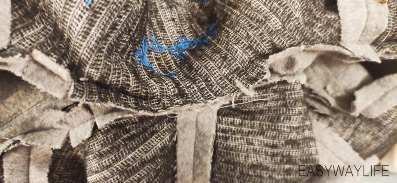 Обработка воротника в пальто рис 4