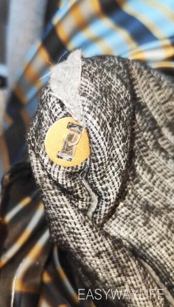 Обработка застежки в пальто рис 4