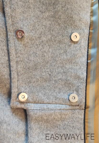 Обработка застежки в пальто рис 5
