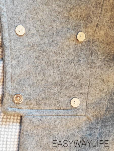 Обработка застежки в пальто рис 6