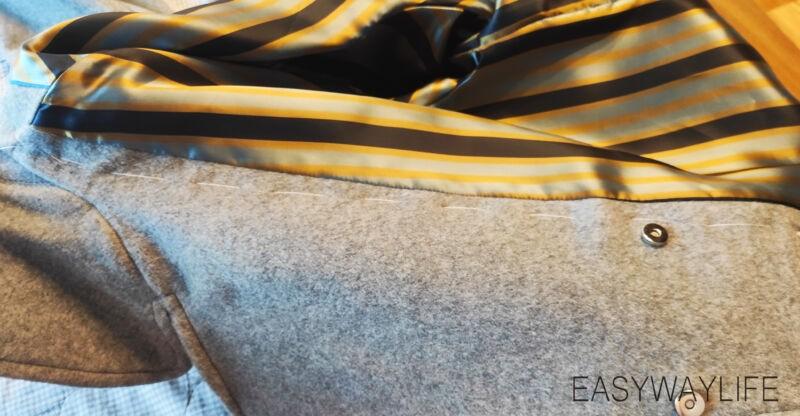 Обработка застежки в пальто рис 7