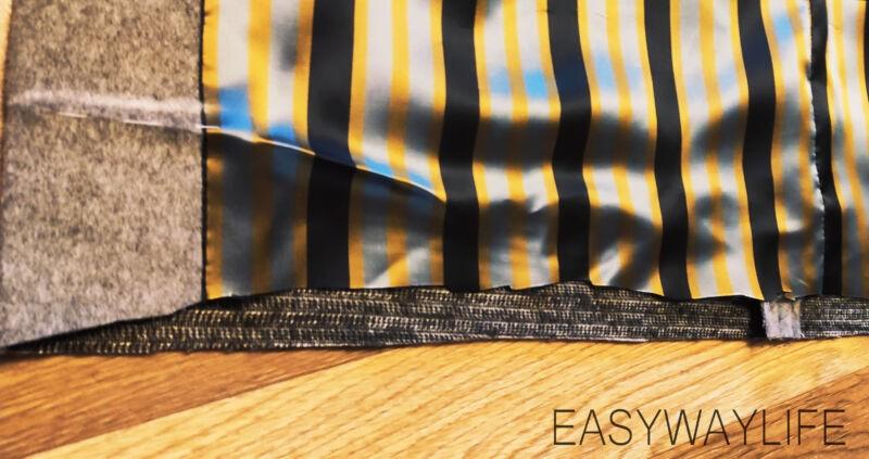Внутренняя отделка, закрепки, низ пальто рис 4