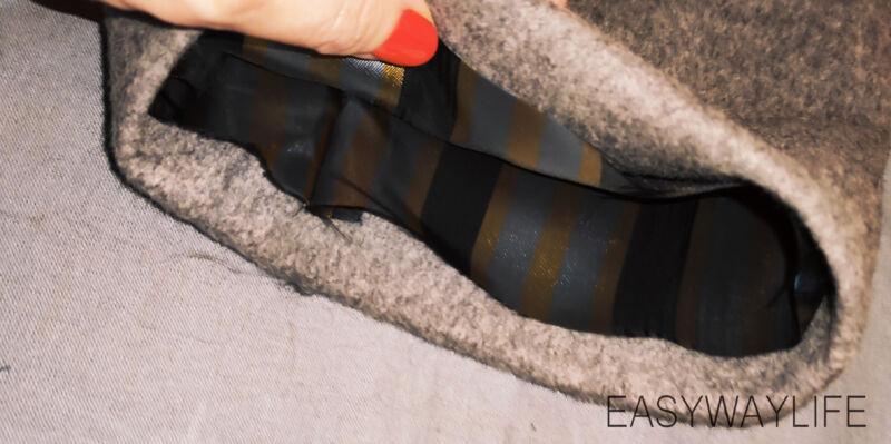 Внутренняя отделка, закрепки, низ пальто рис 3