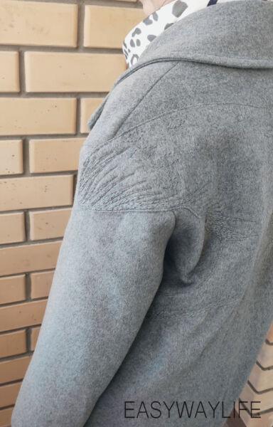 Вышивка на пальто рис 2