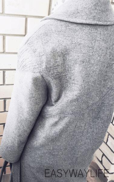 Вышивка на пальто рис 3
