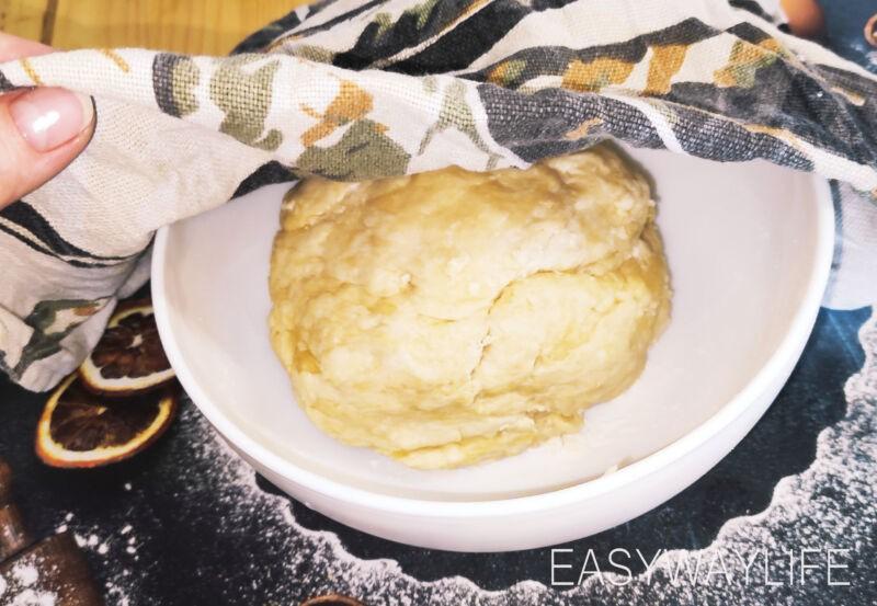 Дрожжевое тесто на пирожки рис 4