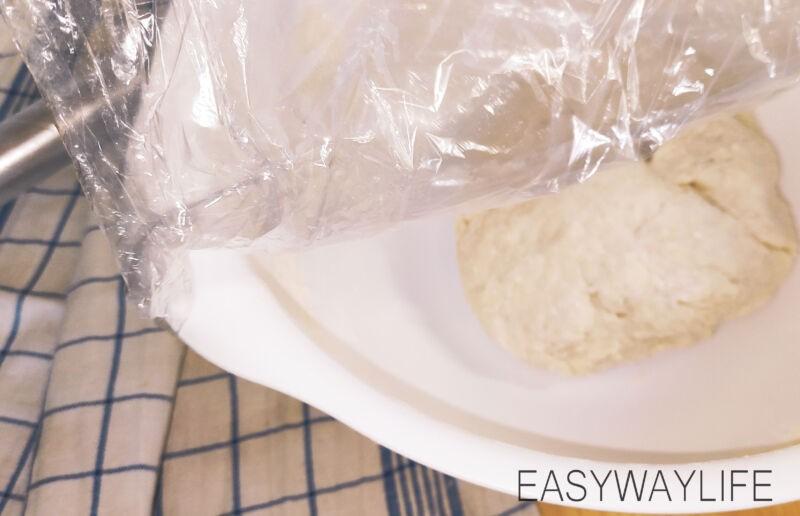 Приготовление кефирного пельменного теста рис 2
