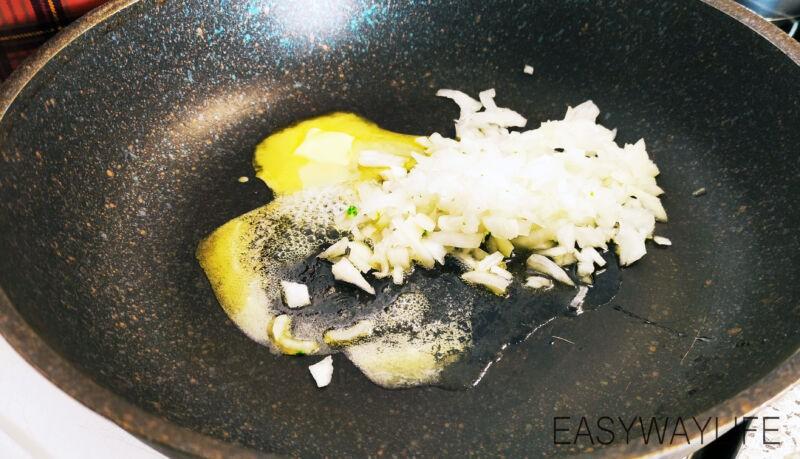 Приготвление соуса для пасты рис 2